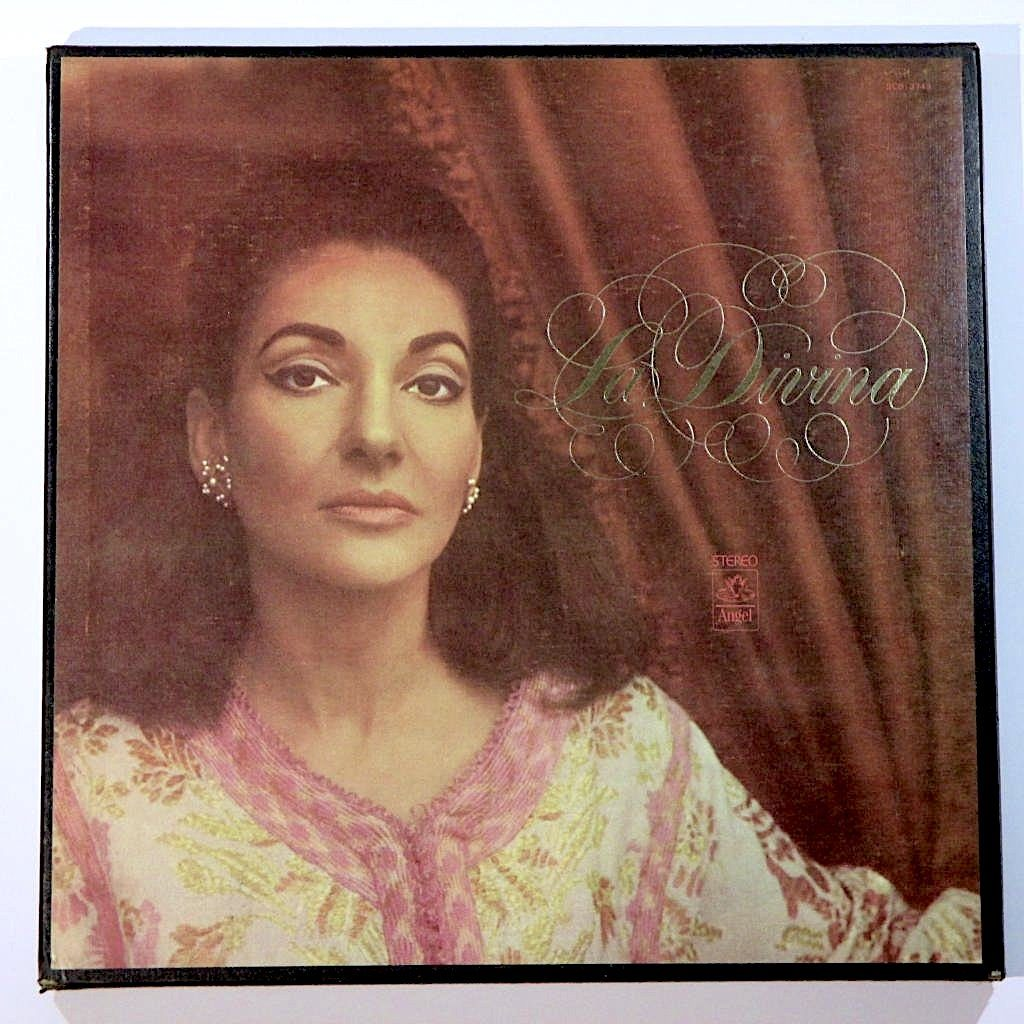 Maria Callas La divina (Vinyl Records, LP, CD) on CDandLP